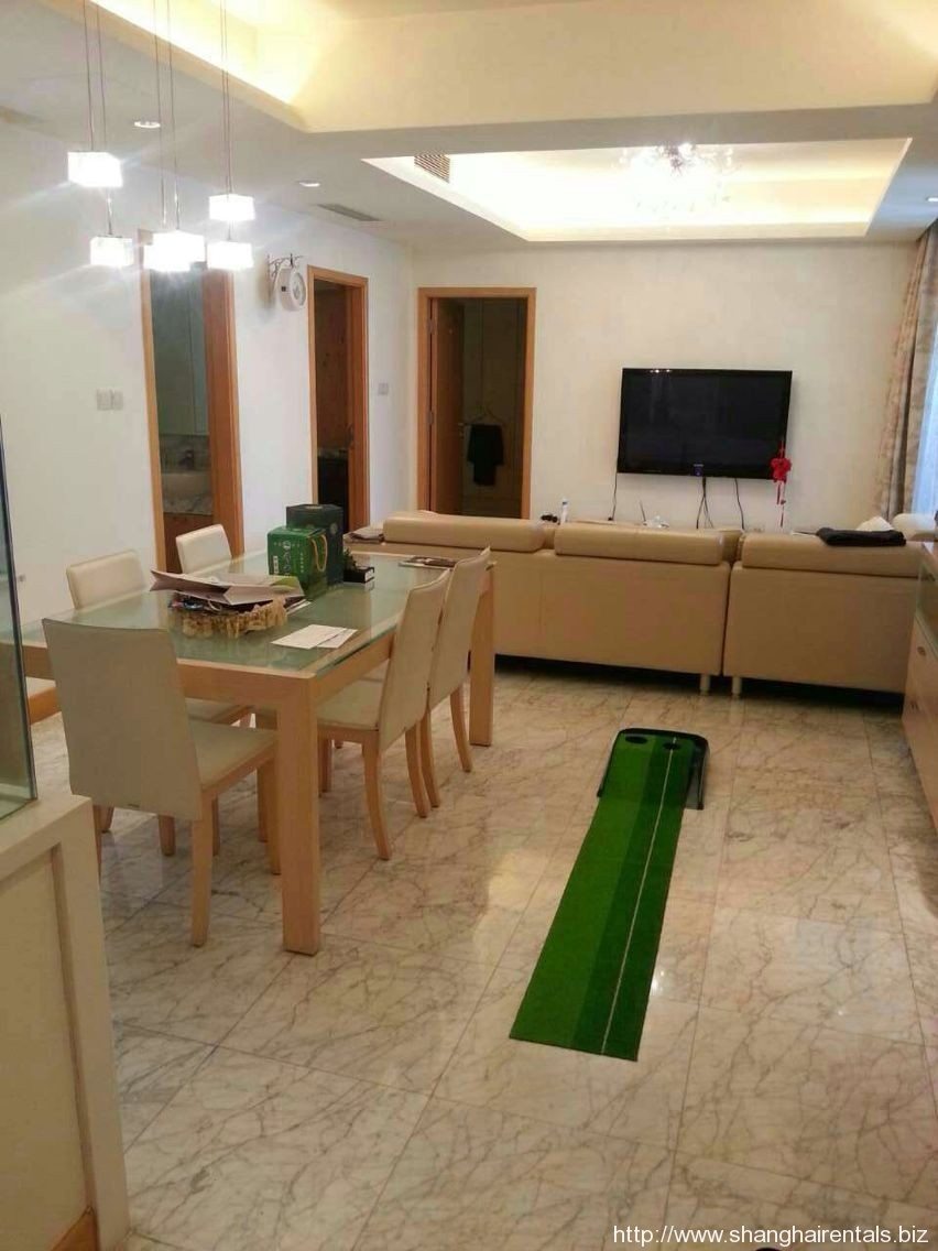 2br Spacious Apatment in Jingan Four Seasons, Downtown Sanghai