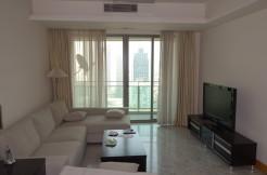 2br flat at high floor of Jingan Four Seasons,downtown Shanghai