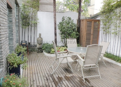 1bedroom lane house with terrace in Former french concession