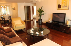 Big apartment for rent in Gubei in Consul Garden