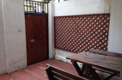 Renovated studio with terrace apartment for rent in FFC