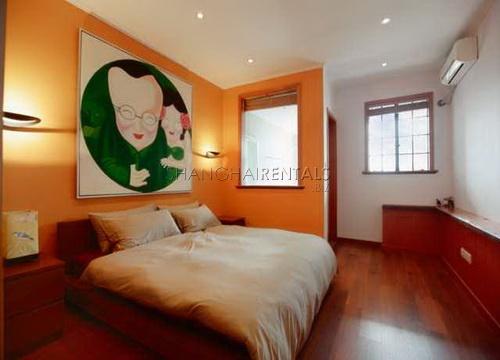 modern apartment in art deco building near suzhou creek bund area for rent (8)