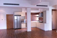 Unfurnished apartment for rent in Ambassy Court Huaihai Lu