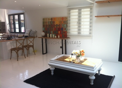lane house with terrace in former french concession for rent apartment in shanghai for rent (10)