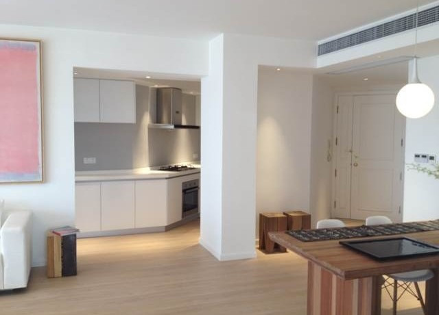 modern apartment in high rise central residences in former french concession old town in shanghai for rent  (1)