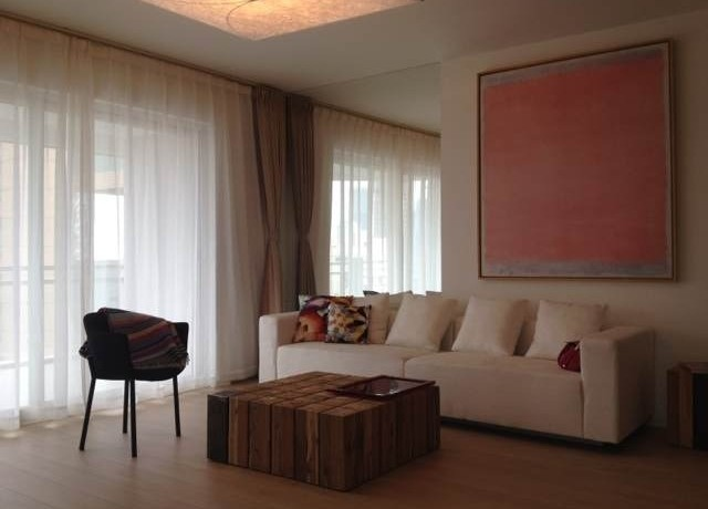 modern apartment in high rise central residences in former french concession old town in shanghai for rent  (3)