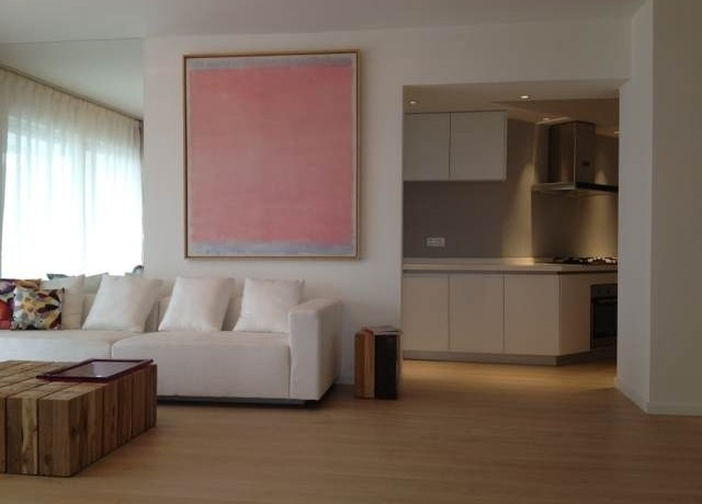 modern apartment in high rise central residences in former french concession old town in shanghai for rent  (4)