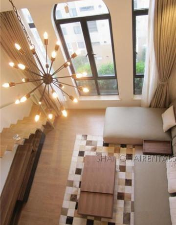 penthouse in gubei for rent floor heating with nice view, expat housing, apartment for rent in Shanghai (2)
