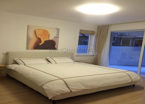 modern apartment in central residences in former french concession in shanghai for rent (5)