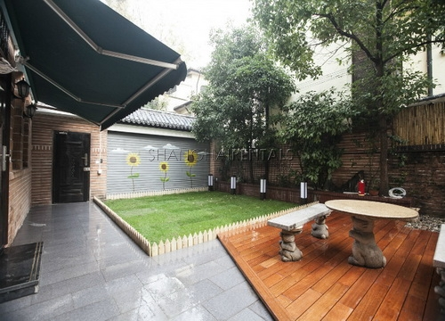 lane house with garden for rent apartment for rent in shanghai (3)