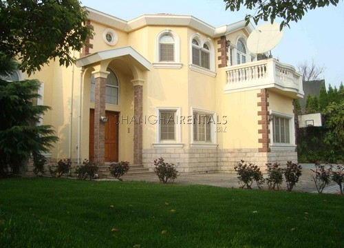 A Cozy Villa In Forest Manor In Qingpu For Rent