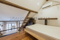 designed lane house apartment in former french concession for rent (13)