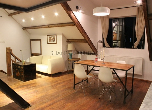 designed lane house apartment in former french concession for rent (8)