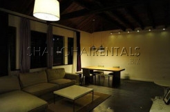 lane house apartment for rent in shanghai with terrace