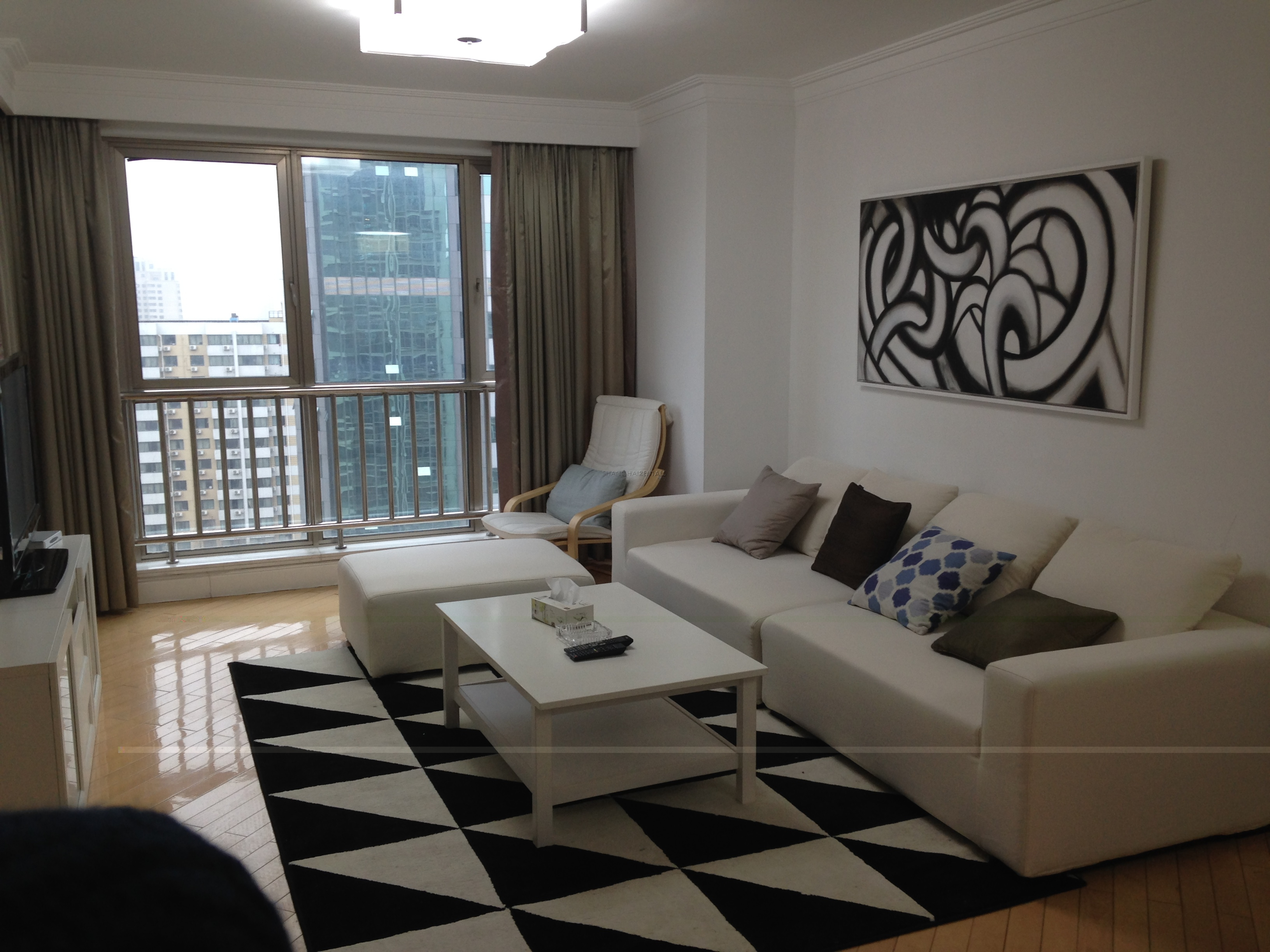 modern apartment in Le Marquis Compound Shanghai (6) ...