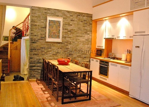 Rent a lane house in French concession in Shanghai Maoming road (9)