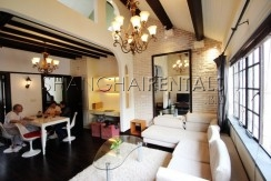 lane house at south chongqing rd for rent in xintiandi area of Shanghai3