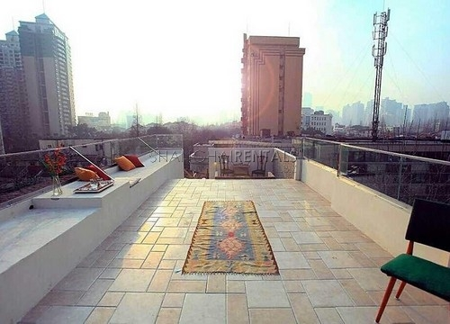 Rent a lane house on Anfu rd in French Concession in Shanghai  (1)