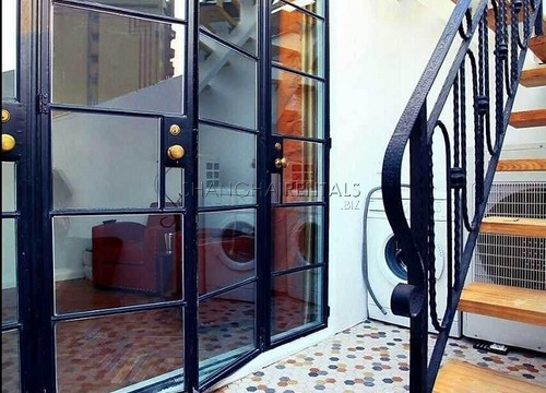 Rent a lane house on Anfu rd in French Concession in Shanghai  (13)