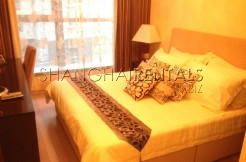 2 Br Apartment at 8 Park Avenue in Jing'An for Rent