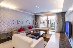 3 Br Apartment at City Castle in Jing'an for Rent