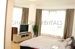 3 Br Apartment at Top of City in Jing'an for Rent