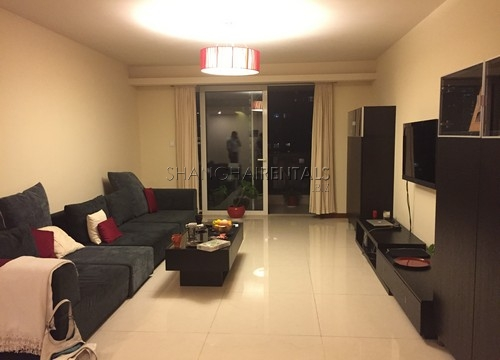 3Br Grand Jewel Apartment in Jing'an for Rent