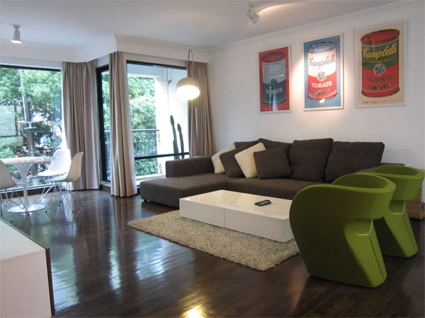 Modern apartment for rent in fontainebleau