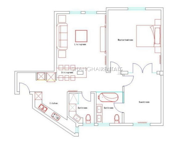 Apartment near Peoples Square for rent  1