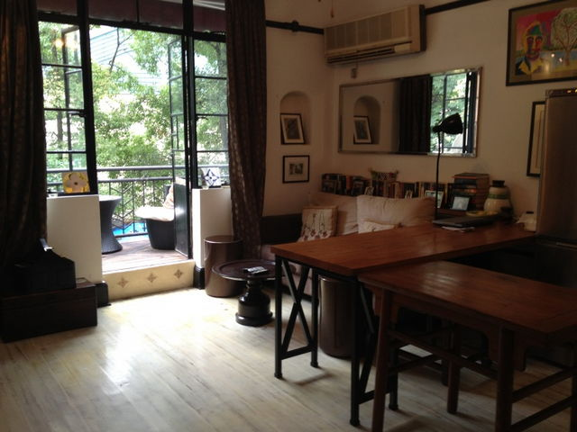Apartment with terrace for rent on Kangping road