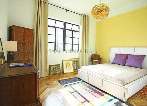 Rent a lane house on Anfu rd in French Concession in Shanghai  (7)